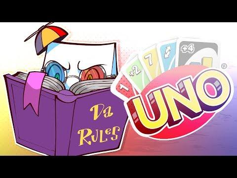 DA RULES! (UNO Funny Moments)