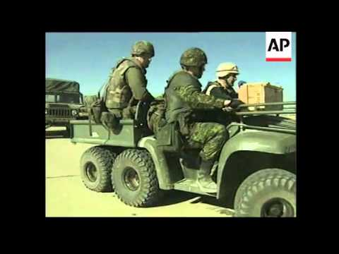 Team of eight Canadian troops on Afghan mission.