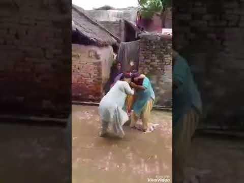 WWE fight among slum girls funny