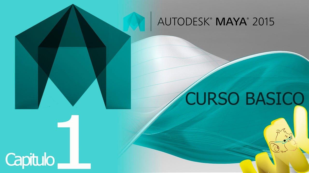 autodesk maya 2015 tutorial descarga e inicio curso b sico espa ol rh youtube com Maya 2013 Icon Maya 2013 Tutorial