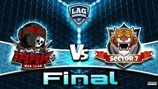IRAK vs SECTOR 7// FINAL // LAG // Liga Argentina de Guerras