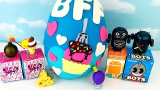 Huge Play Doh KidRobot BFFs Surprise Egg