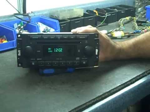 Chrysler Stereo Repair - YouTube
