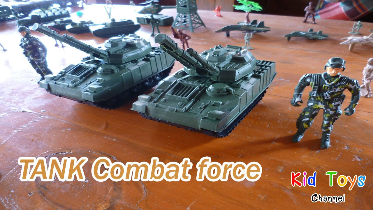 Soldier Force 9 Elicottero : Tank combat force army military toy soldiers youtube