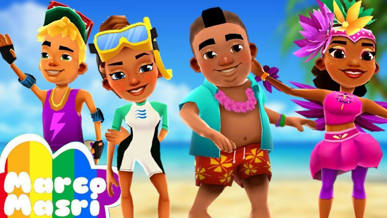 Subway Surfers Summer Pack Kim Nick Izzy And Carmen Youtube