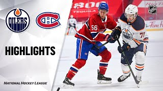 Oilers @ Canadiens 5/12/21 | NHL Highlights