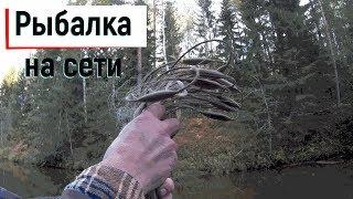 Рыбалка на сети осенью Встретили Странника