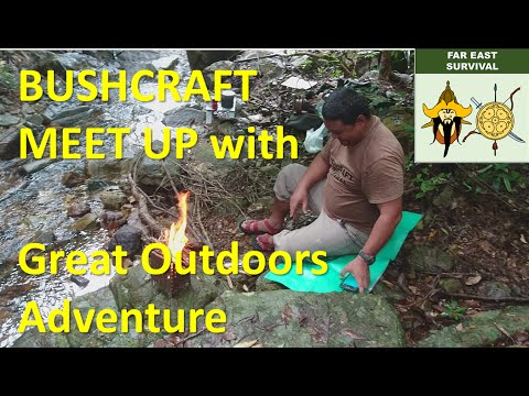 Bushcraft Meet Up with Great Outdoors Adventure and Don Outdoors and Survival