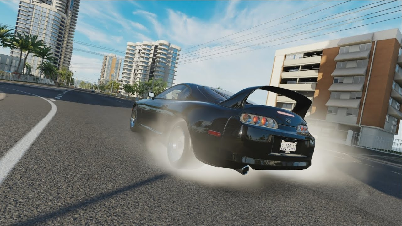 Forza horizon 3 1000 hp supra drag build forzavista tuning cruise test hits drifting