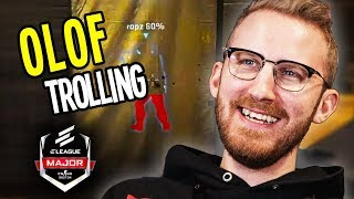 OLOF TROLLING THE CROWD! - Best of MAJOR ELEAGUE Boston - CS:GO | Part 5