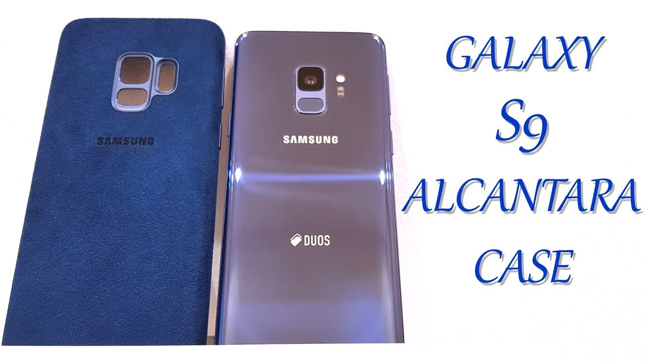 the latest 1b171 c1161 OFFICIAL ALCANTARA Cover Case for Samsung Galaxy S9