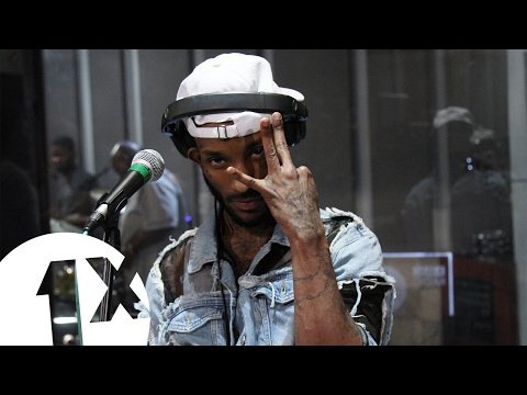 Angel - Grade in the BBC 1Xtra  Lounge Jamaica