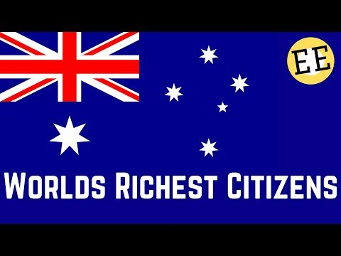 Australians are the Richest People in the World?