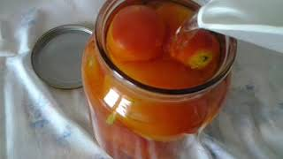 бабушкины заготовки на зиму.консервируем помидоры без заморочек.без стерилизации.быстро и вкусно