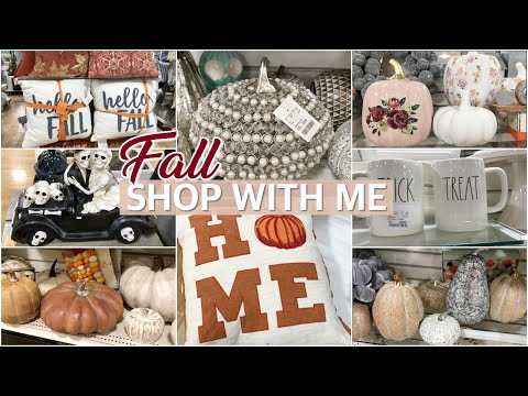 FALL DECOR SHOP WITH ME AT HOMEGOODS 2019 / New Fall & Halloween Finds! | Lauren Midgley