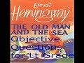 The Old Man and the Sea by Ernest Hemingway Objective Questions- हिंदी में पढ़े/ for Lt Grade