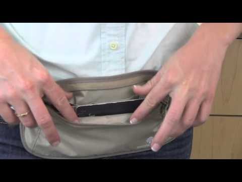 Best In Class Eagle Creek RFID Blocker Money Belt DLX