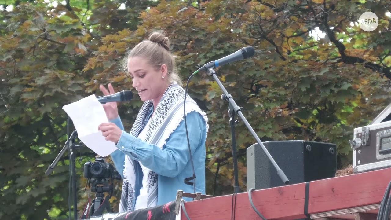 """""""Jesus war Palästinenser"""": Geschichtsverklärung bei """"pro-palästinensischer"""" Demonstration in München"""