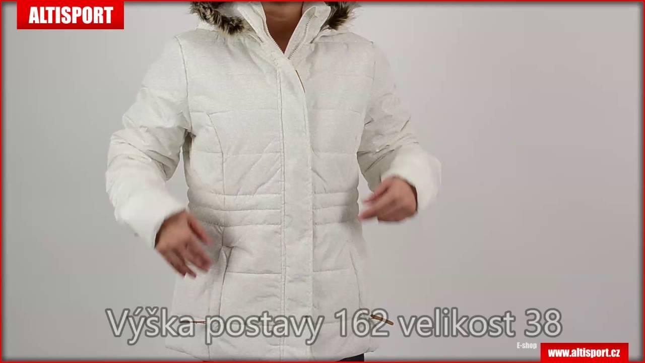 0aff016881 dámská zimní bunda loap tonina clw1690 bílá - YouTube