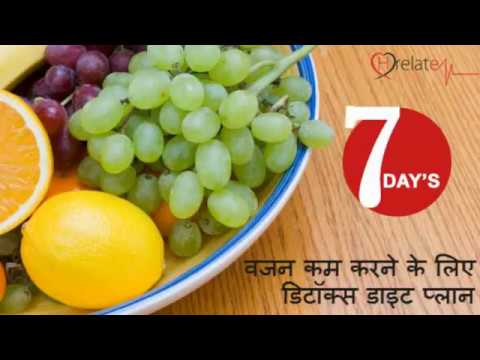 Detox Diet Plan in Hindi: 7 Din mai Vajan Kam Kare