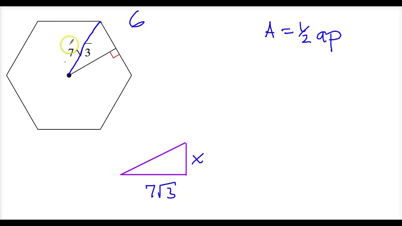 Area Of A Regular Polygon Given Only Apothem