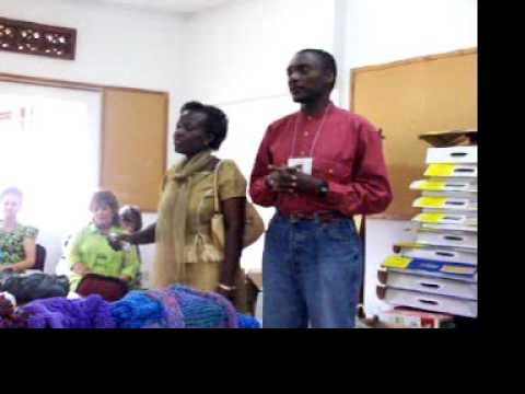 Pastor John Higiro from Rwanda - Leads Rwanda team