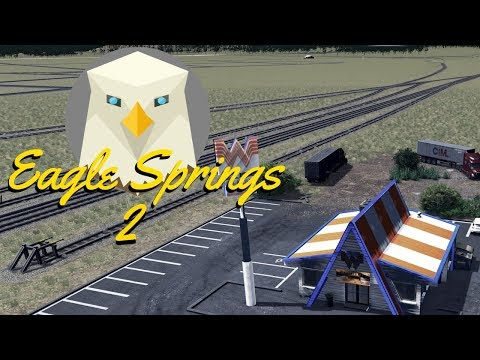 Cities Skylines: Eagle Springs Route 66 - Downtown - EP2