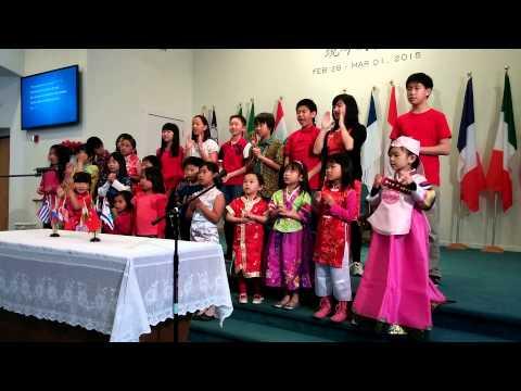 Be a missionary every day - GII SF Sunday School Choir