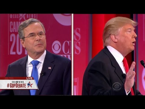 Donald Trump, Jeb Bush get heated over Syria, national security