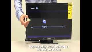 SANYO DP24E14 HD Television Unboxing