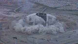 Texas Stadium Implosion - April 11, 2010