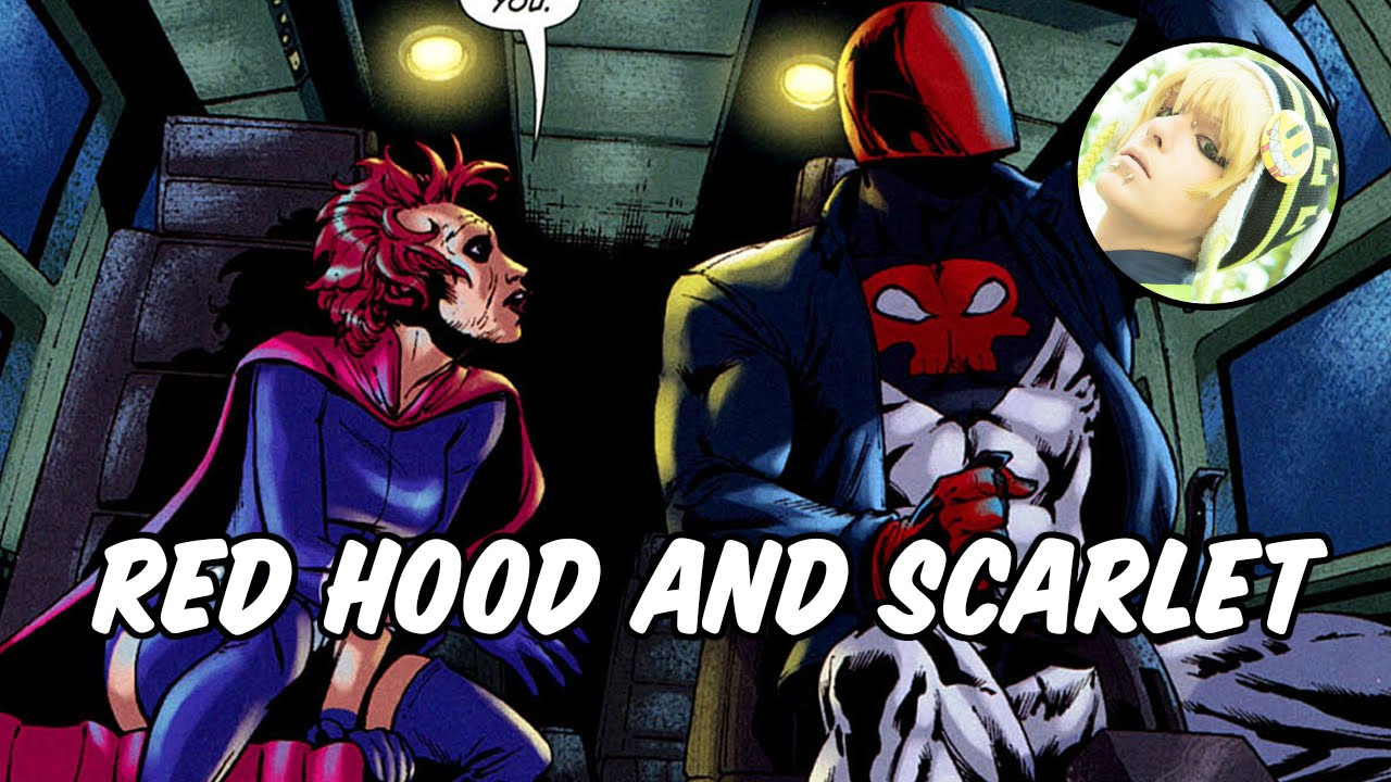 Jason Todd And Scarlet Red Hood and Sc...