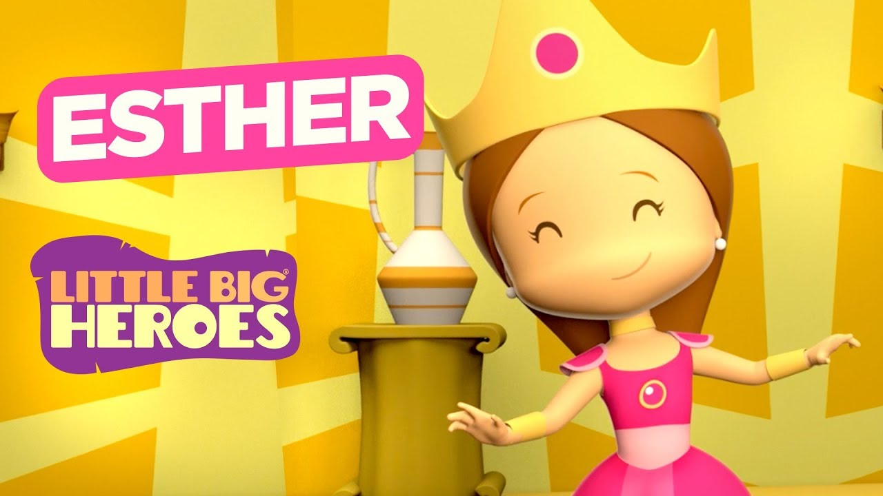 Esther - Bible Stories for Kids - Little Big Heroes