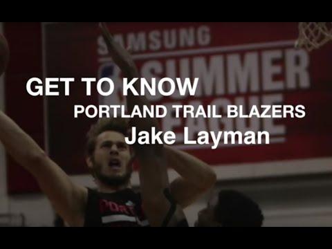 Get to know Portland Trail Blazers Jake Layman off the court