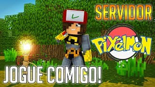 VEM JOGAR PIXELMON COMIGO!   Minecraft  Pixelmon Generations 1.10