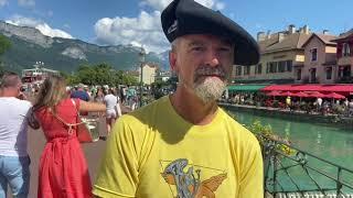 Direct d'Annecy avec Stéphane Espic et les gilets jaunes à Annecy
