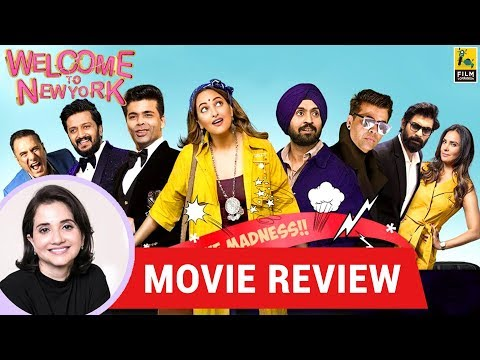Anupama Chopra's Movie Review of Welcome to New York | Karan Johar I Diljit Dosanjh I Sonakshi Sinha