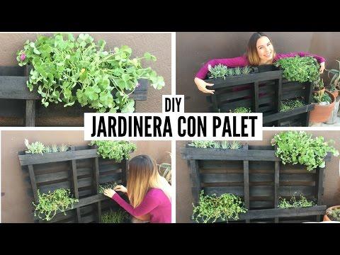 Diy jardinera con palet coco alternativo for Jardinera palet bricomania