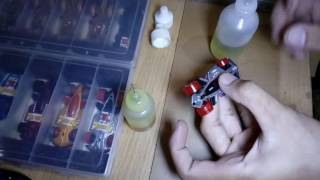 How to lubricating diecast hot wheels before race