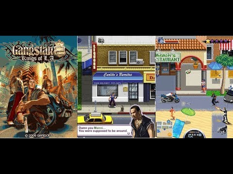 Gangstar 2: Kings Of L.A | Java Game | KEmulator