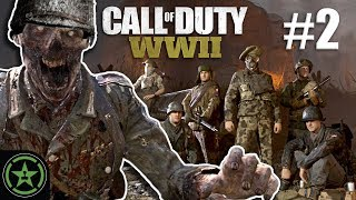 A Quiet Zombie Day - Call Of Duty WWII - (CoD Week #2) | Let's Play