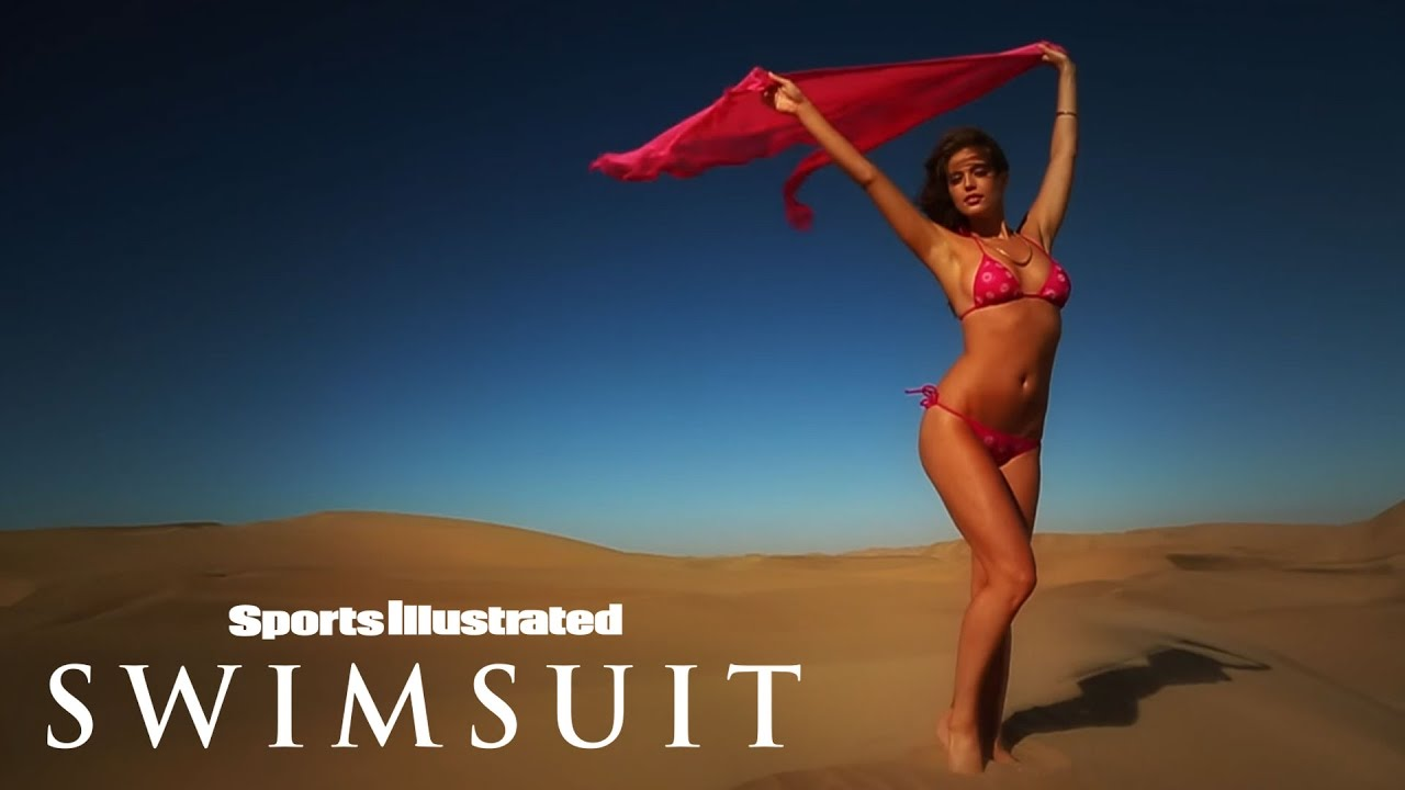 emily didonato shows off her curves in the desert intimates sports