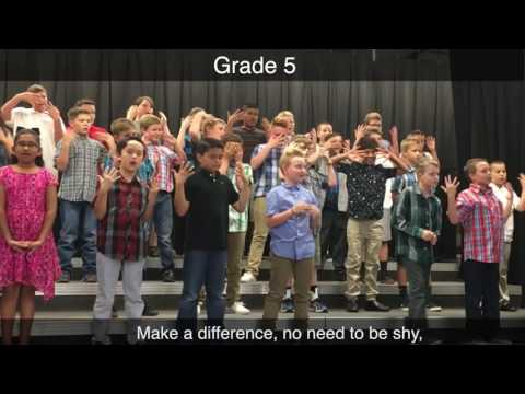 Making A Difference Song
