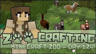 Zoo Crafting! Newborn Foals in the Meadow of Horses!! - Episode #124 | Season 2
