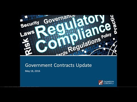 Government Contracts Update – Stay Informed