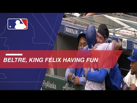 Enjoy Beltre, King Felix's Bromance Over The Years
