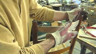 Making A Bent Backsplat For A Farmhouse Chair - Thomas Johnson Antique Furniture Restoration