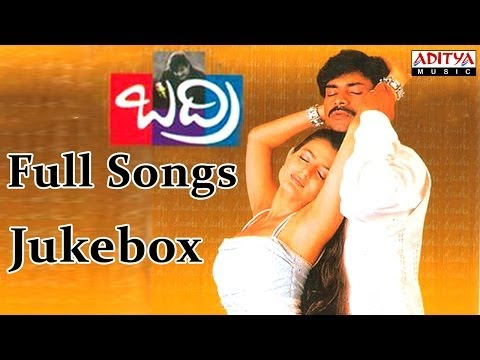 Badri Telugu Movie Full Songs  || Jukebox ||  Pawan Kalyan,Renudesai