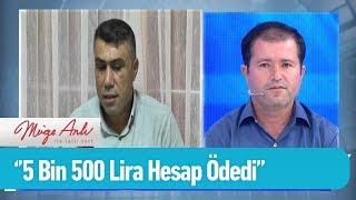 ''Sabaha kadar eğlendi 5 bin 500 lira hesap ödedi'' - Müge Anlı ile Tatlı Sert 24 Eylül 2019