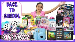 Girls Back to School Supplies Haul + Giveaway 2015 #2 | (Closed)